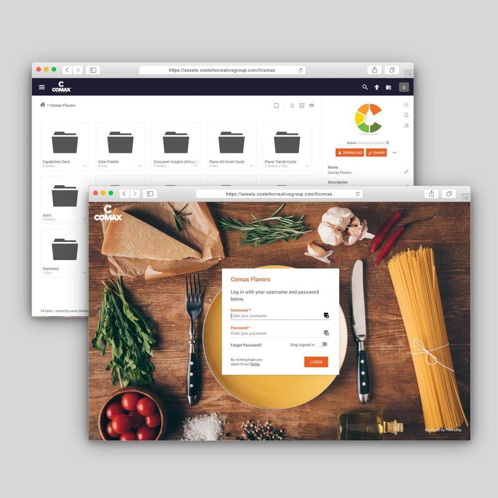 Comax Flavors Digital Asset Management