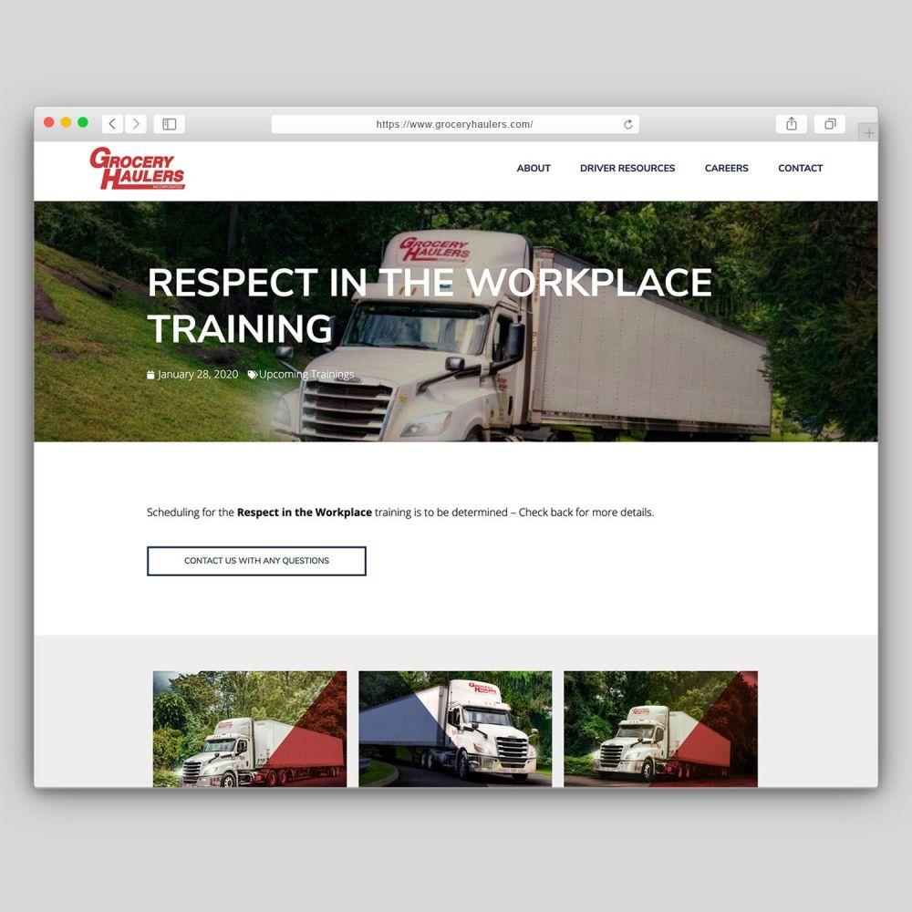 Grocery Haulers Website